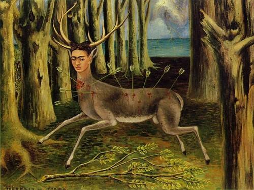 freida kahlo deer