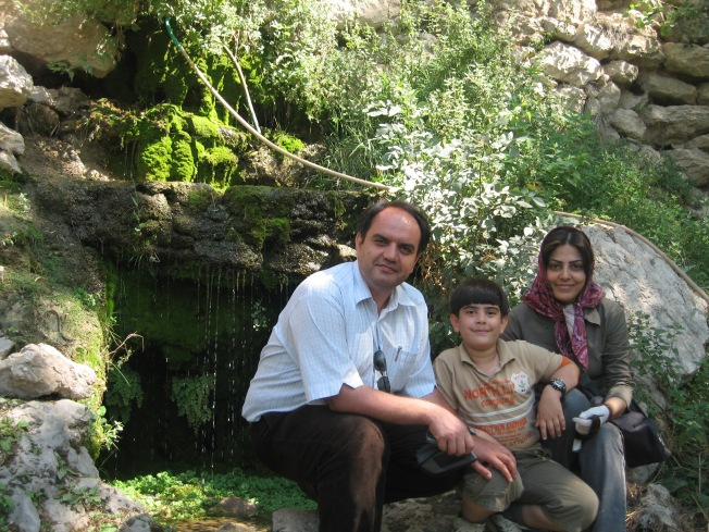 Vahid and Family - outdoors
