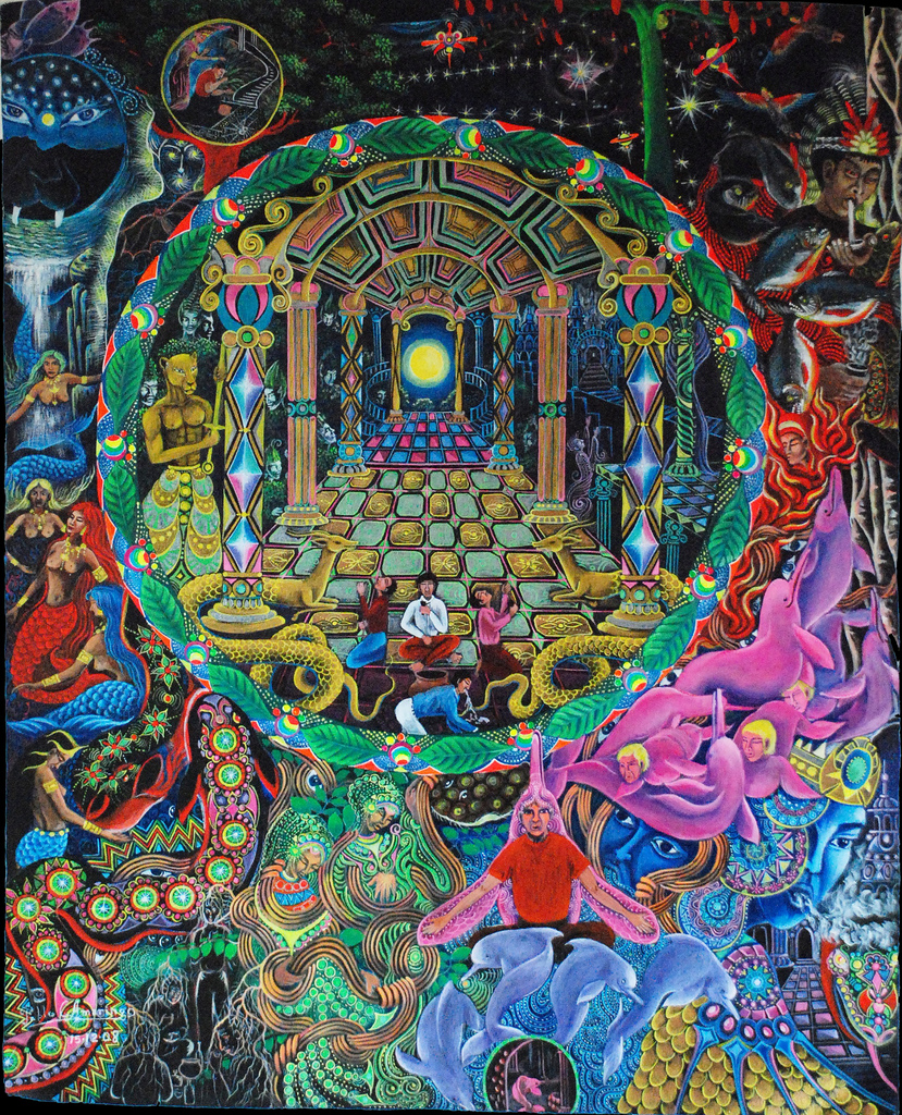 Celeste s cosmology ae lefton untold people living for Mural mandala
